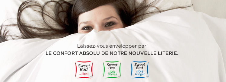 Sweet bed by Ibis Lorient